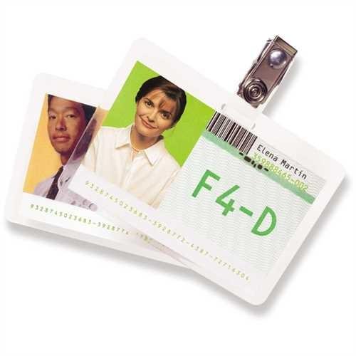 GBC Laminiertasche CardPouch, für: Ausweise, 99 x 67 mm, 0,125 mm, glänzend (100 Stück)