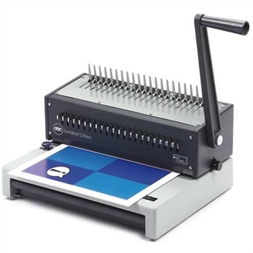 GBC Bindegerät, CombBind C250Pro, Plastikbindung, 21er Stanzung - US-Teilung, max. Arbeitsbreite: A4