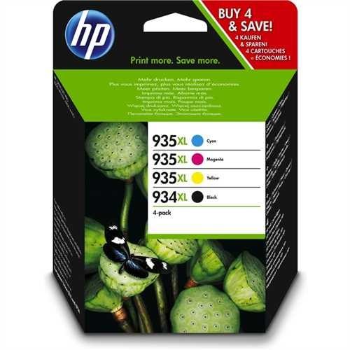 HP Tintenpatrone, 934XL/935XL, original, cyan/magenta/gelb/schwarz, 1.000/825 Seiten (schwarzweiß/fa