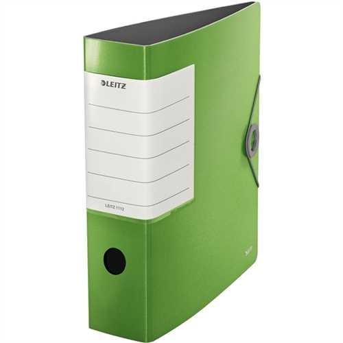Leitz Solid Ordner 1112-50, DIN A4, 82 mm, grün