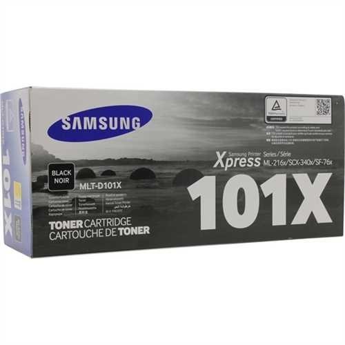 SAMSUNG Toner, MLT-D101X, original, schwarz, 700 Seiten