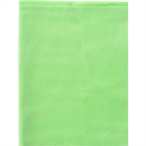 WYPALL* Reinigungstuch, Mikrofaser, 40 x 40 cm, grün (6 Stück)