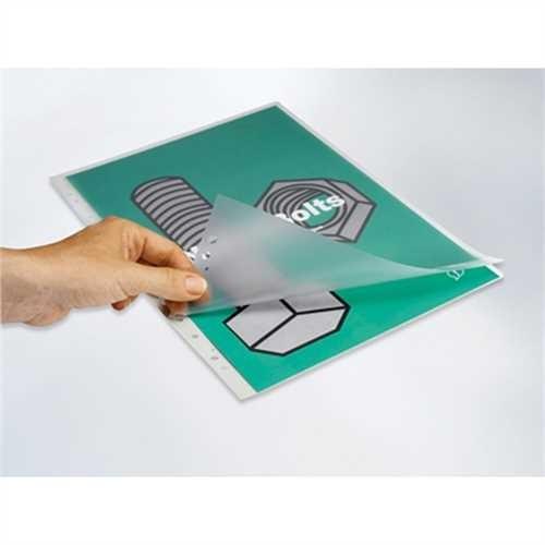 GBC Laminiertasche Organise™ Pouch, Universallochung, A4, 229 x 304 mm, 0,125 mm, glänzend (100 Stüc