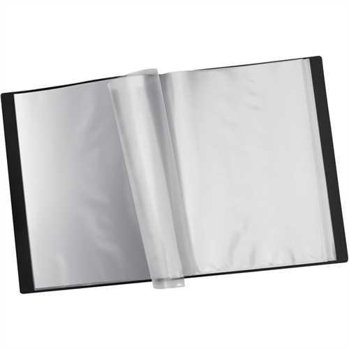 STAPLES Sichtbuch, PP, 40 Hüllen, A4, schwarz