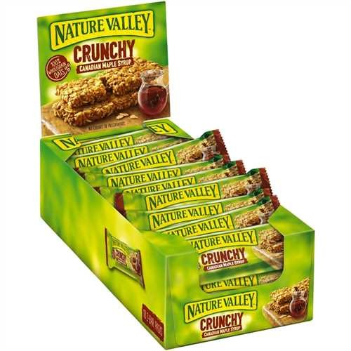 NATURE VALLEY™ Müsliriegel, Kanadischer Ahornsirup, 18 x 42 g (756 g)