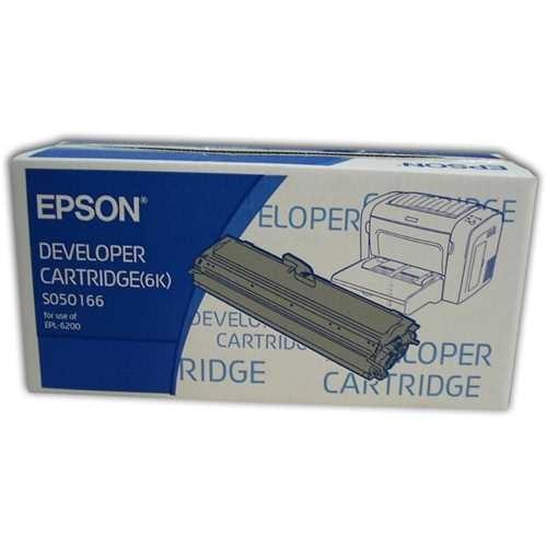 EPSON Toner, C13S050166, original, schwarz, 6.000 Seiten