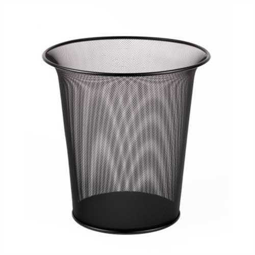 ReXel Papierkorb Drahtserie, für Innenbereich, rund, 230 - 330 x 340 mm, schwarz