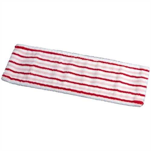 Vermop Moppbezug Sprint Brush, 40 x 14 cm, rot / weiß