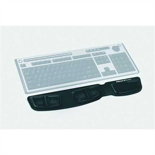 Fellowes Handgelenkauflage Health-V™ Crystals™, Gel, Kunststoff, für Tastatur, 46,5 x 8,5 cm, Stärke