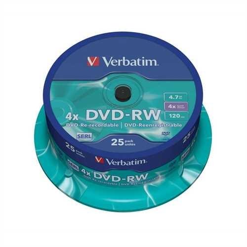 DVD-RW 4,7GB 120Min 4-fach