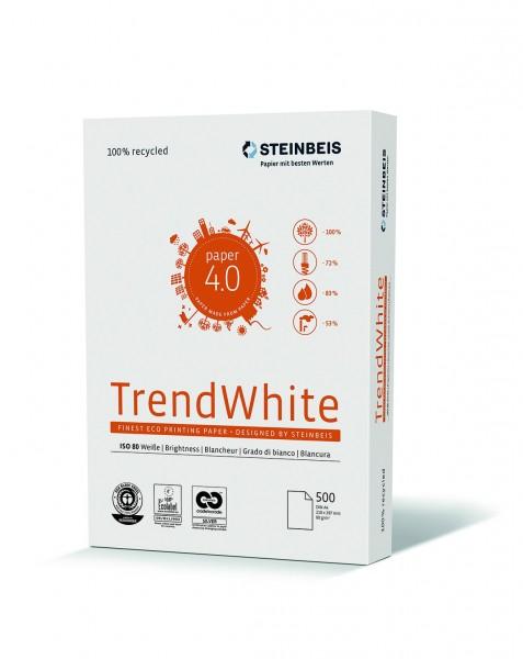 Steinbeis Multifunktionspapier Trend White 80
