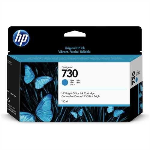 HP Tintenpatrone 730, original, cyan, 130 ml