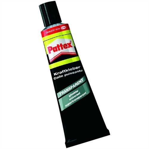 Pattex Klebstoff TRANSPARENT, 50 g, Tube (50 g)