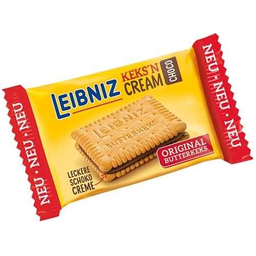 LEIBNIZ Gebäck KEKS'N CREAM, CHOCO, Karton, 96 x 1 Stück