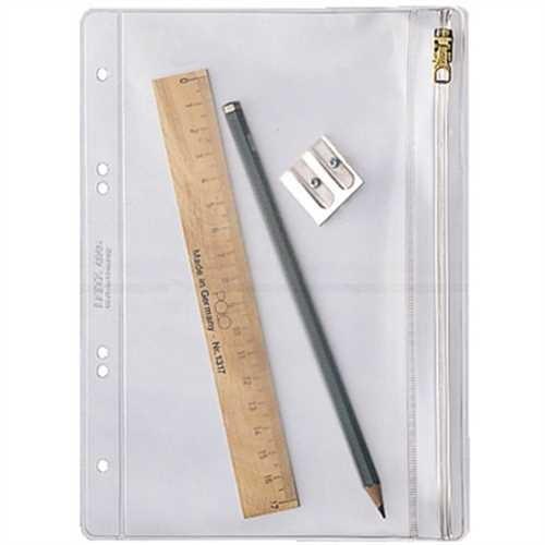 LEITZ Kleinkrambeutel, PVC-Weichfolie, Standardlochung, A5, 0,2 mm, farblos