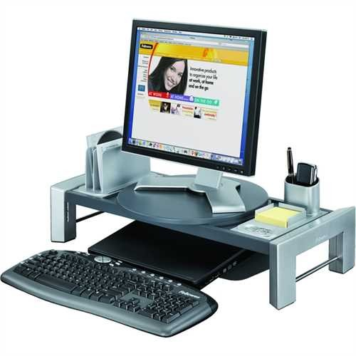Fellowes Monitorständer Workstation Professional Series™, grau