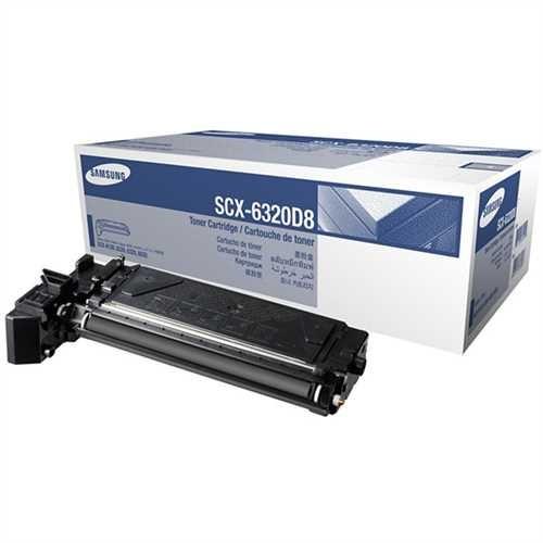 SAMSUNG Toner, SCX-6320D8, original, schwarz, 8.000 Seiten