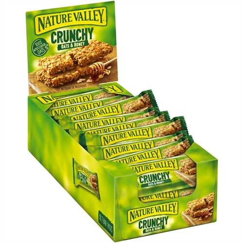 NATURE VALLEY™ Müsliriegel, Hafer & Honig, 18 x 42 g (756 g)