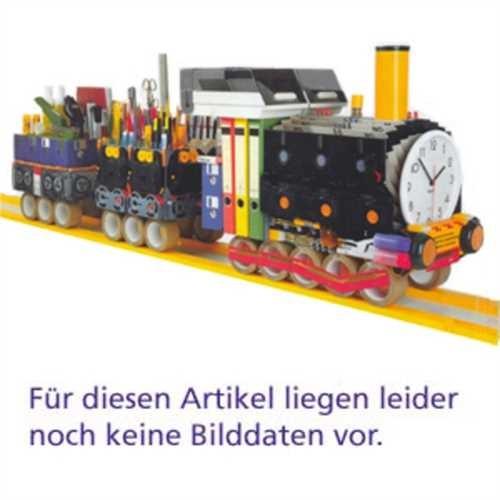 Hailo Standaschenbecher mit Papierkorb ProfiLine schwarz CombiplusXL 45L