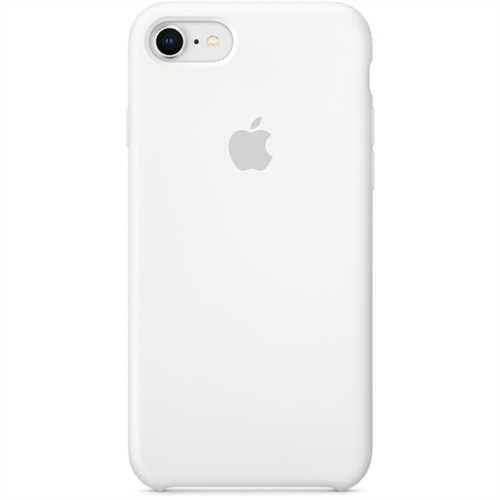 APPLE Smartphonerahmen, f.APPLE iPhone 8 / 7, Silikon, weiß