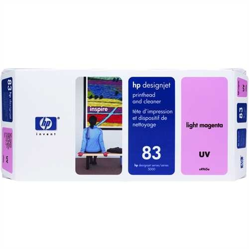 HP Druckkopf 83, C4965A, original, UV, hellmagenta