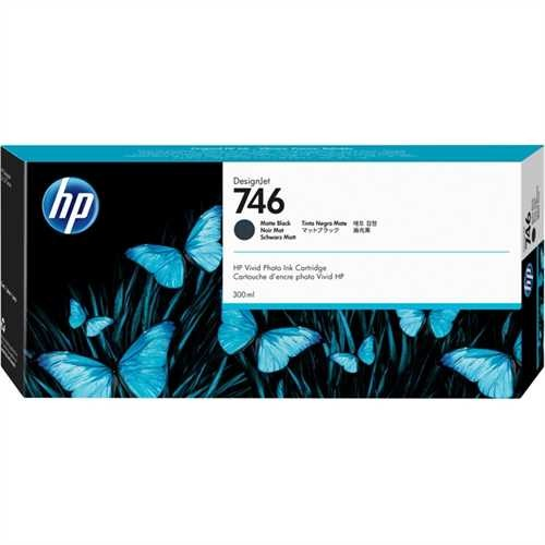 HP Tintenpatrone 746, P2V83A, original, mattschwarz, 300 ml