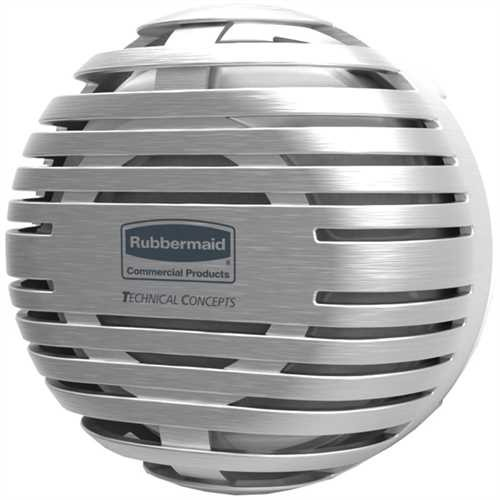 RubbermaidCommercial Products Lufterfrischer TCell™ 2.0 Spender, leer, 5,99 x 10,39 x 10,39 cm, chro