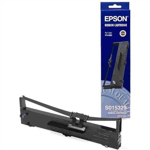 EPSON Farbband, C13S015329, Nylon, schwarz, 7,5 Mio. Zeichen