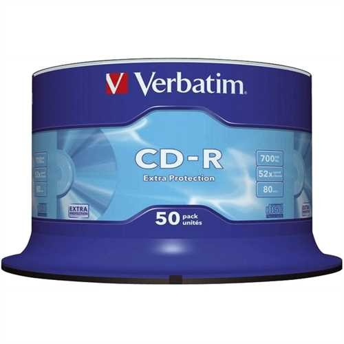 CD-R 52x 700 MB 50er Spindel