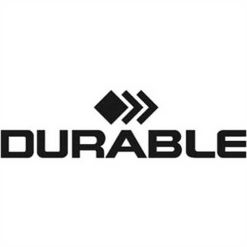 DURABLE Sichttasche DURAFRAME Security, 2St., A4, farblos/grün/weiß Rahmen (2 Stück)