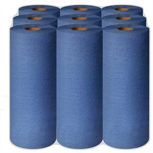 Putztuchrolle durex plus 3-lg. blau 38x50cm 9x90 Bl