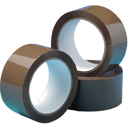Packband PP Trägermat.Acryl braun 50mm x66m 6 Rollen