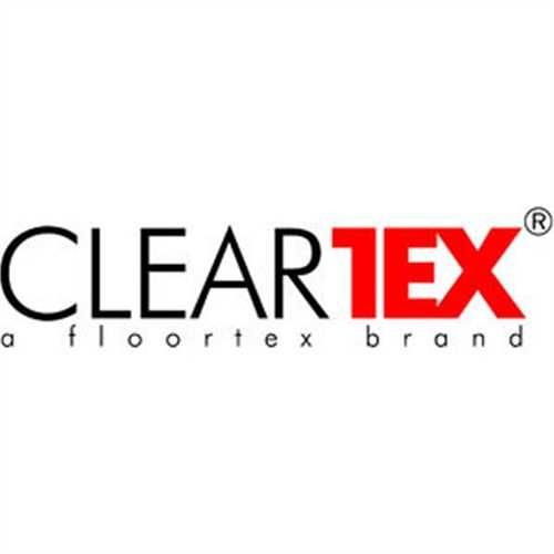 CLEARTEX Bodenschutzmatte advantagemat, Hartboden, Vinyl, 90x120cm, schwarz