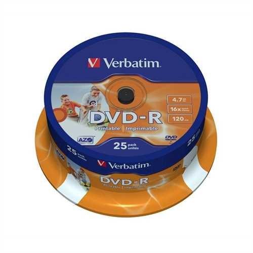 DVD-R 4,7GB 16x 25er Spindel