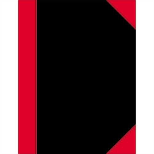 LANDRÉ Geschäftsbuch China, kariert, A7, 60g/m², hf, Einband: sw/ro, 96Bl.