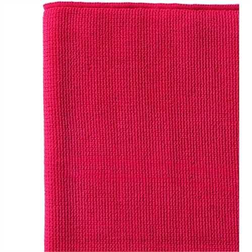 WYPALL* Reinigungstuch, Mikrofaser, 40 x 40 cm, rot (6 Stück)