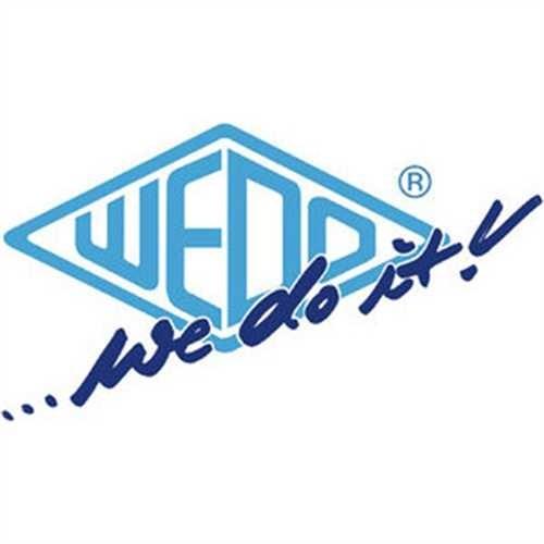 WEDO Rollhocker, Metall, 29,5/43,5 x 44 cm (oben/unten), rot