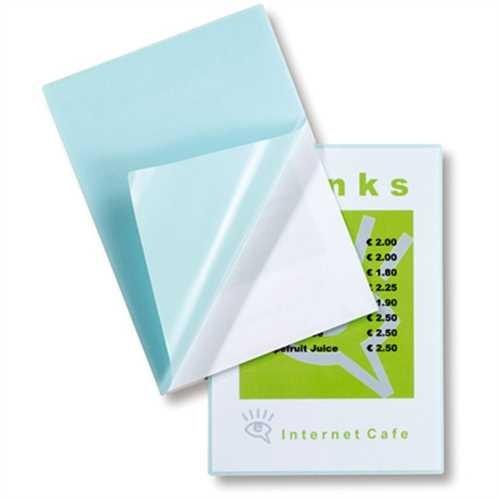 GBC Laminiertasche Peel'nStick™ Pouch, selbstklebend, A4, 216 x 303 mm, 0,125 mm, glänzend (100 Stüc