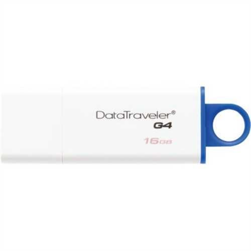 Kingston USB-Stick DataTraveler G4, 16 GB, weiß/blau
