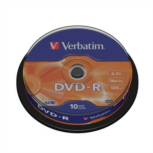 DVD-R 4.7GB 16x 10er Spindel