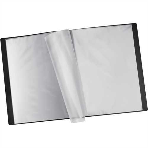 STAPLES Sichtbuch, PP, 12 Hüllen, A4, schwarz