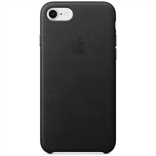 APPLE Smartphonerahmen, für APPLE iPhone 8 / 7, Leder, schwarz