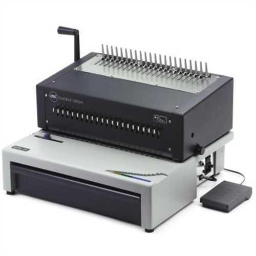 GBC Bindegerät, CombBind C800Pro, Plastikbindung, max. Arbeitsbreite: A4, maximale Bindekapazität: 4