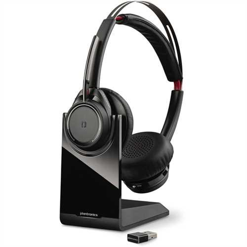PLANTRONICS Headset, Voyager Focus UC B825, Kopfbügel, Stereo, USB, 155 g, Bluetooth 4.1, schwarz
