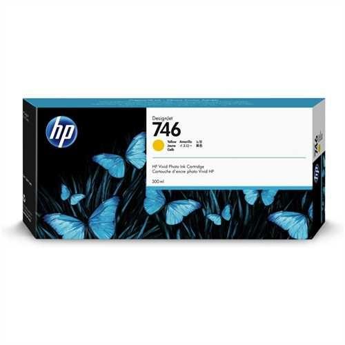 HP Tintenpatrone 746, P2V79A, original, gelb, 300 ml