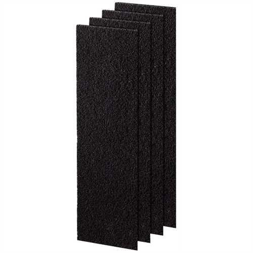 Fellowes Filter Kohlefilter klein, f.DX5 Plastik schwarz 113 x 5 x 410 mm