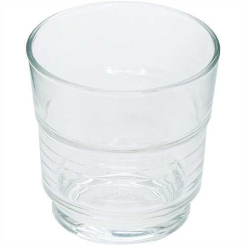 Arcoroc Glas, Spirale, stapelbar, rund, 200 ml, 7,7 x 7,7 cm (6 Stück)