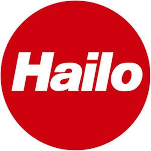 Hailo TretMülleimerPure XLStahlblech weiß 44L