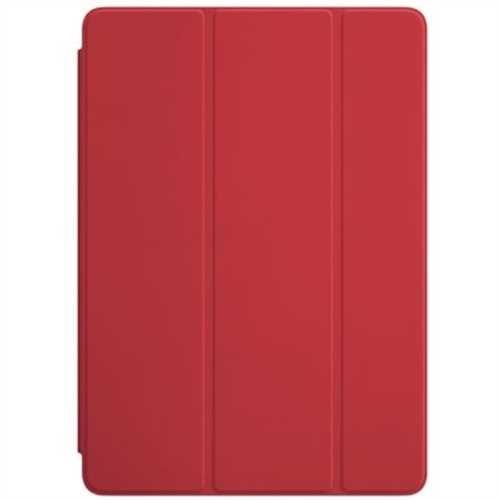 APPLE Tablet-Computer-Tasche Smart Cover, für APPLE iPad Air/ iPad Air 2, Polyurethan/Mikrofaser, ro