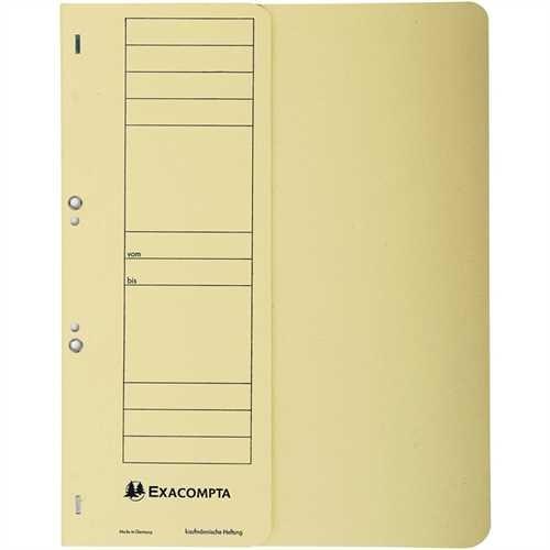 EXACOMPTA Ösenhefter, Karton (RC), 250 g/m², 1/2 Vorderdeckel, kaufmännische Heftung, A4, 24 x 30,5